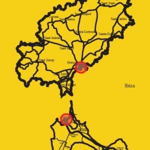 localización topografia sa savina formentera