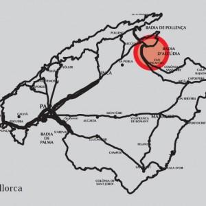 mapa ubicación cartografia estudio topográfico port alcúdia