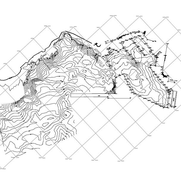 plano batimetria port cala rajada