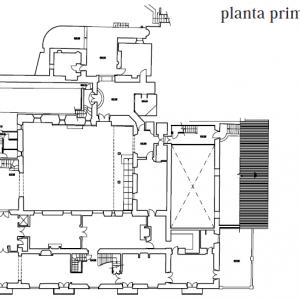 planta primera estado actual vivienda