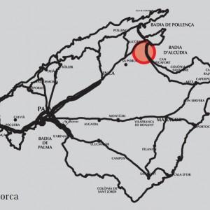 estado actual las gaviotas mapa mallorca