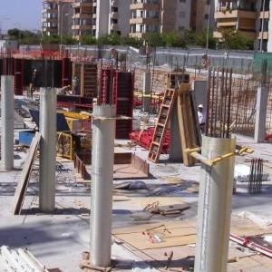 replanteo obras pilotes y cimentacion San Jose 2