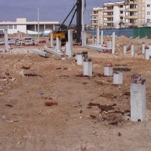 replanteo obras pilotes y cimentacion San Jose 3