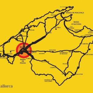 replanteo obras pilotes y cimentacion San Jose mapa ubicación mallorca